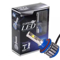제조자 T1 C6 K5 LED 차 헤드라이트 H1 H7 H11 9005 9006 9012/Hir2 72W 8000lm 운전사 암호해독기 안개등 Fortruck와 차