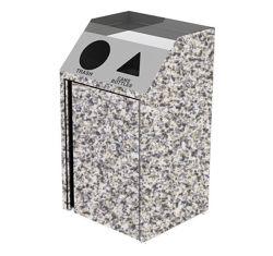 Soem-Abfall-Sortierfach-gute Qualitätsabfall-Sortierfach-Pedal, das HandelsEdelstahl-Mülleimer-vorgewähltes im FreienAbfalleimer-Fach-große moderne Abfall-Sortierfächer bekanntmacht