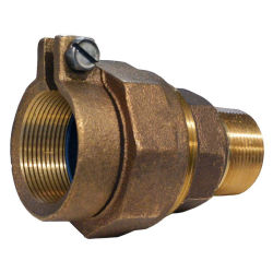 Hight Quality Bronze Union Coupling with Pack Joint