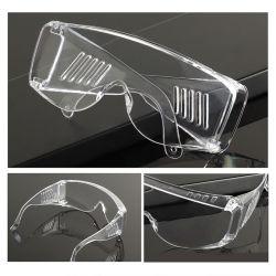 Óculos ajustáveis líquido Anti-Sneeze Óculos de protecção ocular Anti-Droplets motocicleta óculos de proteção de vento óculos de Laboratório Lentes Transparentes