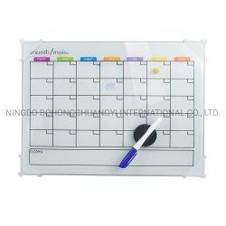 Прозрачным акриловым настенный календарь сухой очистки магнитные доски Capacity Planner