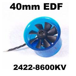 Edf Plus HL4008 2422-8600Moteur Brushless kv 40mm Fed canalisés Système d'alimentation du ventilateur