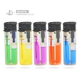 Le client Recharge de gaz colorés de la marque de cigares Electric cigarette électronique léger avec bouchon en caoutchouc noir, le vent