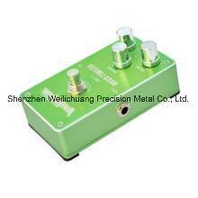 Cnc-Spitzenaluminiumverzerrungs-Gitarre/Baß-Effektor-Verstärker