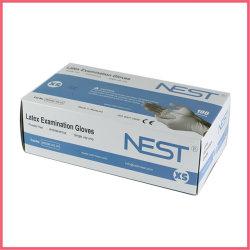 Boîte d'emballage en carton ondulé imprimé personnalisé pour gants d'examen en latex