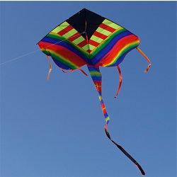 中国は凧のおもちゃのギフトODMの虹凧をからかう