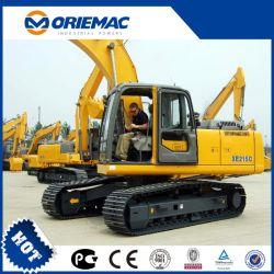 Se utiliza ampliamente la excavación de la maquinaria XCMG 21,5 toneladas xe215c brazo hidráulico para la venta excavadora de cadenas