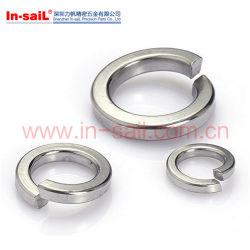 DIN127d'une amende de la qualité des extrémités carrées printemps les rondelles de blocage en zinc plaqué