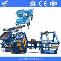 Qt Fuda4-15 Zig Zag máquina de tijolos automático bloco Cabro bloco sólido máquina para fabricação de tijolos da Máquina