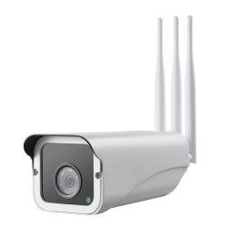 Tarjeta SIM 4G 720p IP66 Resistente al agua 50m de distancia de infrarrojos de Visión Nocturna automática de seguridad CCTV Cámara IP exterior