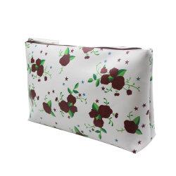 Mini Moda PU la impresión de la bolsa de cosméticos Linda Foto (YSL201805-23)