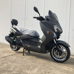 Uma boa alimentação Mota 175cc Scooter de gás com costas