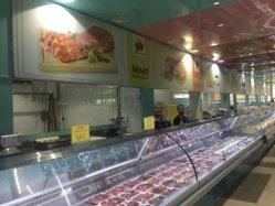 Contador de delicatessen frigorífico caso de supermercado alimentar