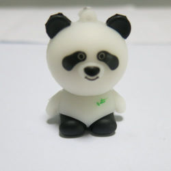 Süßes Panda USB-Flash-Laufwerk Geschenk PVC USB Kann Individuell angepasst werden Logo 128 GB 256 GB