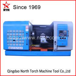 중국 맷돌로 가는 드릴링 기능 Ck64160를 가진 첫번째 직업적인 수평한 CNC 선반