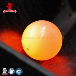 Il diametro 20mm-150mm ha forgiato la sfera stridente d'acciaio per estrazione mineraria