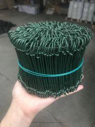 PVC 두 배 루프 철사 또는 직류 전기를 통한 두 배 루프 면 가마니 동점 철사