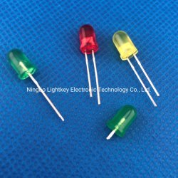 5-mm Hoch-Helligkeit runde LED mit RoHS
