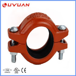 Accoppiamento ed accessori per tubi scanalati ferro duttile con approvazione di FM/UL