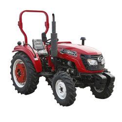 熱い販売4シリンダー50HP 60HP 70HP 80HP 4WD歩く小さく新しい農業機械の農場トラクター