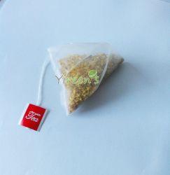58 X 70 мм Пирамида Нейлон для приготовления чая и мешки с строки и уголок для приготовления чая Tag, импортированных из нейлона Food-Grade Прозрачный цвет