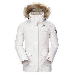 Funcional de las mujeres Baker Faux Fur Fur con ropa de esquí al aire libre
