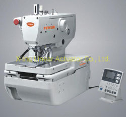 Botón ojal computarizado de alta velocidad Holing máquina de coser