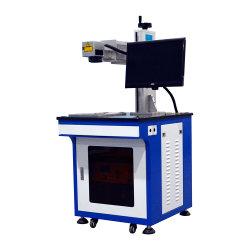 A extremidade do Laser Dapeng bombeado Engravador Laser máquina de marcação a laser de fibra de plástico