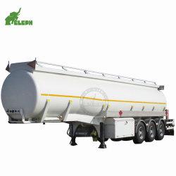 [50م3] ناقلة نفط نقل كيميائيّة سائل دبابة مقطورة مع مستديرة دبابة شكل لأنّ شاحنة عربة