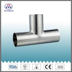 衛生ステンレス鋼の管付属品: 溶接された等しいティー(IDF。 NM034161)