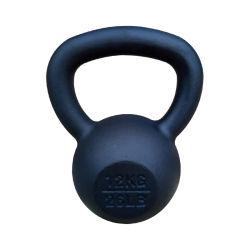 Rizhao Alimentación Fabricante Gym Fitness el equipo de hierro fundido recubierto de polvo de Kettlebell