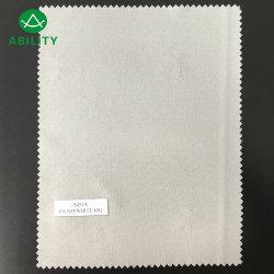 S451A zacht Wit Warp gebreide 100% Polyester Woven interlining doek Voering voor kleding
