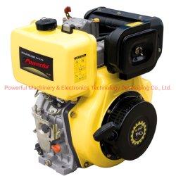Hotsales leistungsfähiger luftgekühlter einzelner Zylinder Verweisen-Eingespritzter Dieselmotor 9HP Pd186fa mit 3000/3600rpm