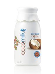 360 ml PP-fles kokosmelk met espressokoffie