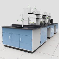 Mobilia di legno d'acciaio del laboratorio dell'isola di chimica della High School di fisica di prezzi bassi & di migliore qualità