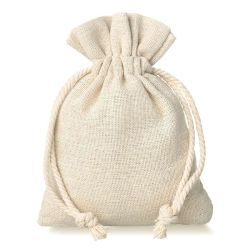 Sacchetti di tela naturali 100% ecologico del sacchetto dell'imballaggio del regalo e dell'estetica del lino