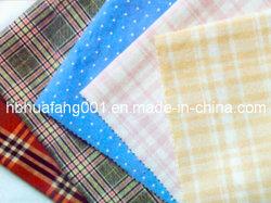 100%年の綿CheckおよびPlaid Yarn Dyed Poplin Fabric (HFYD)