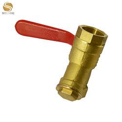 """Válvula de bola de latón de 1/2"""" con el y el tamiz Tamiz de latón Topflow falsificador alto Quanlity forjando y Tamiz Tipo"""