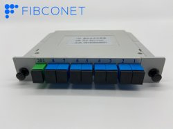 Sc APC/UPC 1*8 de la fibre optique Type de module séparateur PLC