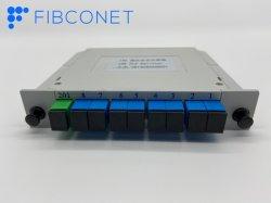 APC Sc/UPC 1*8 del módulo de fibra óptica tipo PLC Splitter
