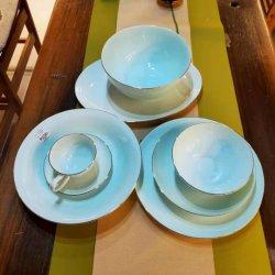El color porcelana China juego de comedor cena juego de vajilla