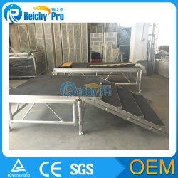 Высокое качество при отклонении от нормы на открытом воздухе фанера этапе алюминиевая подставка для отображения