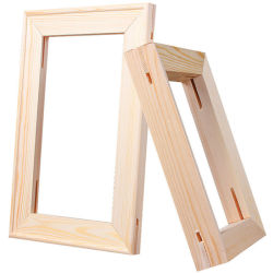 المهنة 280غ/م2 380GSM Blank Sketch Canvas Beech Wooden Frame