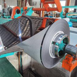 نظام SUS 201 304 316L 310S المدلفن الساخن / البارد 409L 420 420j1 420j2 430 434 436 L 439 من المقاوم للصدأ ملف صلب مع سعر مصنع عالي الجودة 0.4مم 0.6مم ثيكنش