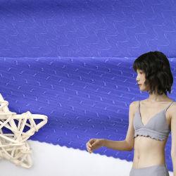 Nylon Jacquard Elastano Lycra tecido de malha de lingeries