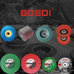 Disque de roue de rabat, rabat, abrasifs Meule Disque de ponçage, papier de ponçage, disque de meulage, roue de coupe, outil de coupe, Diamond Roue, 100-180mm, Grit 40-320#