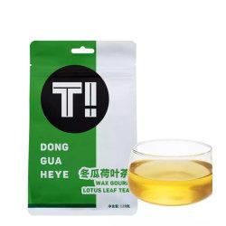 Природные здорового зимнего дыня Lotus Notes для приготовления чая и листьев для подавления жира живота