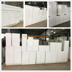 Os fabricantes de mobiliário de madeira armário de cozinha Agitador Cinza branca de pintura
