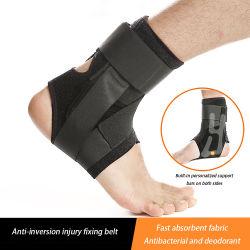 Luva de grossista de fábrica de desportos de Nylon ajustável de Compressão do Braço de suporte de tornozelo de basquete