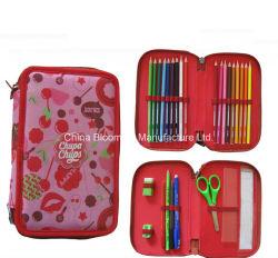 Distributeur Student Polyester Stationery Bag 2 Deck pen Potlood Box Geval
